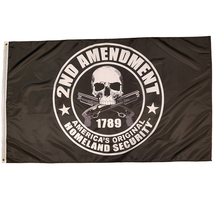 2nd Amendment Flag America's Original Homeland Security flag  3x5 feet - $17.99