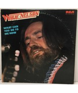 """Willie Nelson What Can You Do to Me Now - RCA 12"""" LP Vinyl Record Album ... - $12.08"""