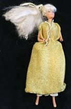 Mattel 1966 Barbie - Wearing Gold Dress - Made in Malaysia - $6.67