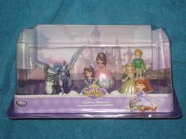 Disney Store SOFIA THE FIRST 6 Figurine Playset. Brand New! #0956 - $22.00