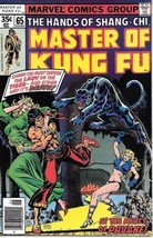 Master of Kung Fu Comic Book #65 Marvel Comics 1978 FINE - $2.99