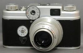 ARGUS C-four Vintage 35mm Film Camera Rangefinder F2.8 50mm Lens CINTAR USA - $60.30