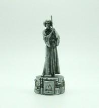 Star Wars Saga Edition Silver Princess Leia Bishop Chess Replacement Gam... - $9.99