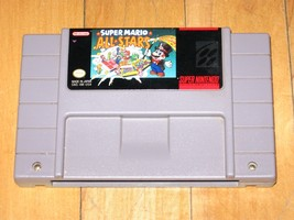 Super Mario All-Stars (Super Nintendo, 1993) SNES cartridge only good label - $33.24