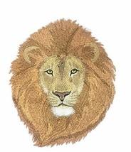 Nature Weaved in Threads, Amazing Animal Kingdom [ Brushed Lion] [Custom and Uni - $17.82