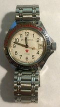 VINTAGE SOVIET BOCTOCK CCCP USSR WATCH EXCELLENT TIME.. - $45.00