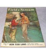 Field and Stream Outdoor Magazine April 1950 Remington Evinrude Martin O... - $9.95
