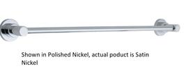 "California Faucets 65-24-SN Avalon Multi-Series 24"" Towel Bar in Satin N... - $113.80"
