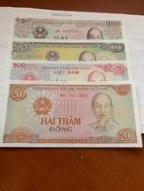Vietnam lot of 4 uncirc. banknotes #abc - $8.00