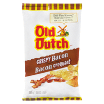 Old Dutch Crispy Bacon Chips 4 Bags Canadian  - $64.99