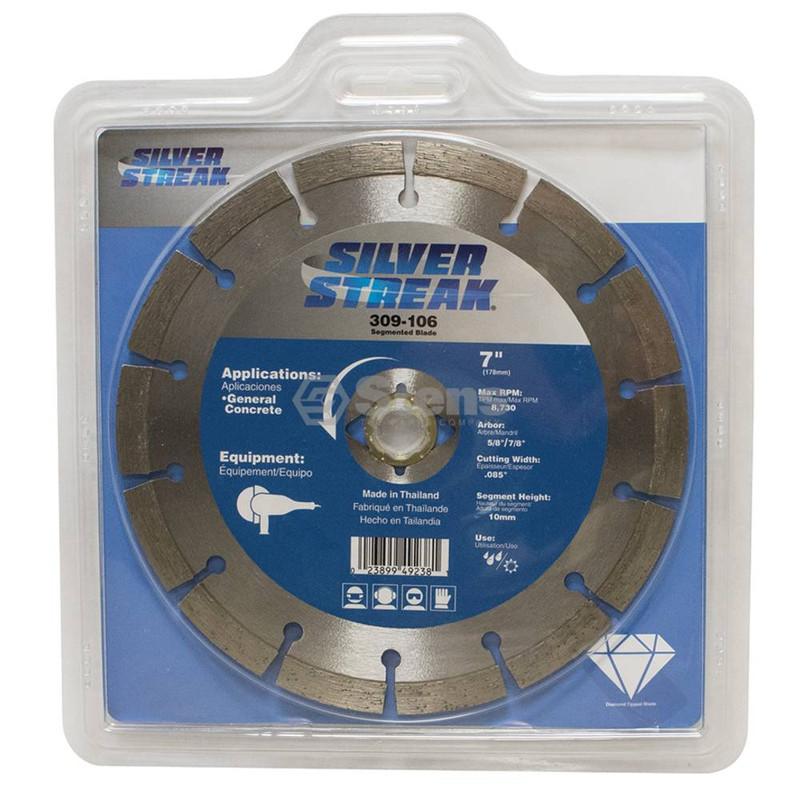 Stens 309-106 Silver Streak Segmented Blade Diamond Cut-Off Saw