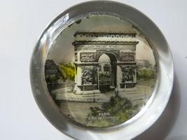 Vtg Original Paris L ARC DE TRIOMPHE Famous Ancient Gebäude Gewölbe - $31.97
