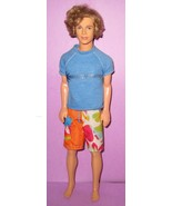 Barbie Ken Fashion Fever Era Beach Fun Blaine Boy Rooted Hair 2004 Cali ... - $18.00