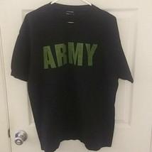 Ovb Army football tee LArge gray  - $19.38