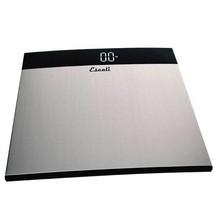 Escali Stainless Steel Bathroom XL Scale 440 Lb / 200 Kg - Extra High Ca... - $59.95