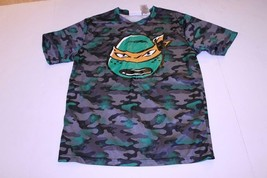 Youth TMNT Michaelangelo XXL (18) Athletic Performance T-Shirt Tee Nicke... - $12.19