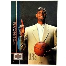Tim Duncan Rookie Card 1997-98 Upper Deck #114 San Antonio Spurs  - $7.87