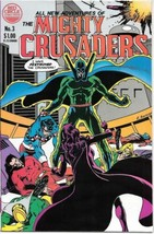 Adventures of The Mighty Crusaders Comic Book #3 Archie 1983 VERY FINE+ - $3.50