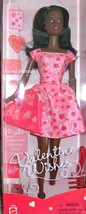 Barbie Doll - Valentine Wishes (2001) AA - $19.50