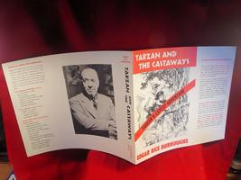 Edgar Rice Burroughs Tarzan And The Castaways original dust jacket, fine - $39.20