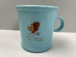 Vtg Tommee Tippee Cup Baby Sippy Cup Mug Drinking Blue Westland - $21.78