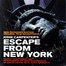 Escape From New York (Expanded Edition) - Soundtrack/Score CD ( Like New ) - $43.80