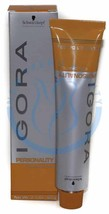 Schwarzkopf Professional Igora PERSONALITY Coloration Hair Color (0-55) - $6.62