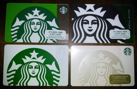 Starbucks Classic Mermaid Gift Card Collection - 4 Cards - New, Never Swiped! - $3.99