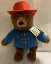 "2016 Paddington Bear Kohls Cares 14"" Plushie Stuffed Animal Plush With Tags - $15.99"