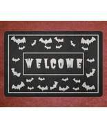 Gothic Home Decor - Crazy Bats Doormat Welcome Mat House Warming Gift Ho... - $29.95+
