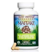 Host Defense - Maitake Mushroom Capsules, Naturally Promotes Normal Blood Sugar  image 4