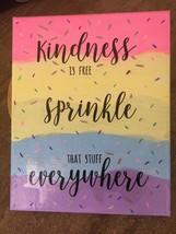 Handmade Kindness Wall Plaque.  8x10 - $15.00