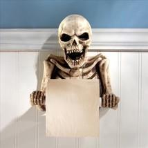 Gothic Bag of Bones Ghoulish Halloween Skeleton Bathroom Toilet Paper Ho... - ₨3,532.04 INR
