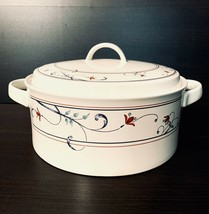 Mikasa Annette Intaglio CAC20 Soup Tureen With Lid And Handles No Ladle ... - $41.58
