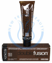 Redken DOUBLE FUSION Browns Advanced Performance Hair Color 2.1oz (Ag) - $6.62