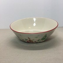 LENOX CHRISTMAS HOLIDAY DIVIDED SERVING BOWL, SLEIGH, CHRISTMAS TREE PAT... - $7.92