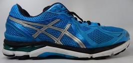 Asics GT 2000 v 3 Size US 13 M (D) EU 48 Men's Running Shoes Blue Black T500N