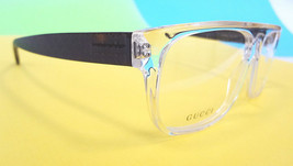 GUCCI Frame Glasses GG1009/N Crystal Havana 57-14-140 MADE IN ITALY - New! - $199.95