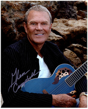 GLEN CAMPBELL  Authentic Original SIGNED AUTOGRAPHED PHOTO w/ COA 39018 - $65.00