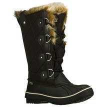 Women's Skechers Tall Quilted Boots Black Size 9.5 #RN759-969 - $84.14