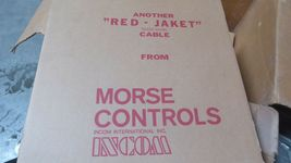 Morse Controls D38011-3-60 Red Jacket Push and Pull Control Cable New image 3