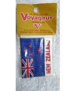 Vintage Voyageur Souvenir Collectible Patch NEW ZEALAND FLAG - $4.95