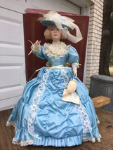 "Ashton Drake Charm of the Southern Belle Doll 17"" porcelain with origina... - $50.00"
