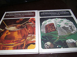 Encyclopedia Cooking Better Homes and Gardens Cook Books Vol 1 & 3 1970 - $7.66