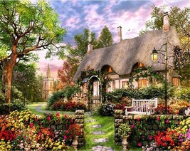 """Flower House 16X20"""" Paint By Number Kit DIY Acrylic Painting on Canvas Unframed - $8.90"""