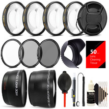 58MM Professional Lens Filter Accessory Kit for CANON EOS Rebel T6i T6 T... - $47.20
