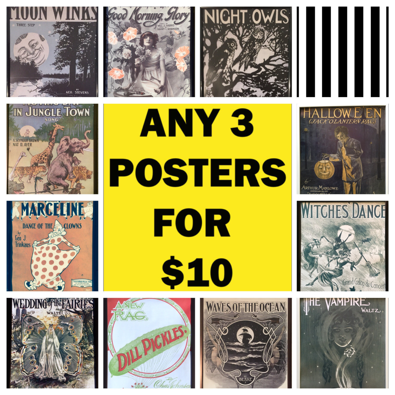 Vintage wall art print poster 18x24 print retro poster retro print ...