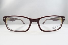 Ray Ban RB 5206 5372 Eyeglasses Red on Beige 52mm - 8 - $71.04
