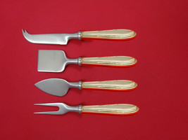 Leonore by Manchester Sterling Silver Cheese Serving Set 4pc HHWS  Custom - $247.10