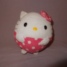 "Hello Kitty Ball Shape Sanrio Ty Beanie Ballz Plush Stuffed Animal 4"" 20... - $9.99"